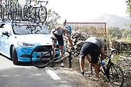 Pavel Sivakov (RUS - Team Sky), during the UCI World Tour, Tour of Spain (Vuelta) 2018, Stage 9, Talavera de la Reina - La Covatilla 200,8 km in Spain, on September 3rd, 2018 - Photo Luis Angel Gomez / BettiniPhoto / ProSportsImages / DPPI