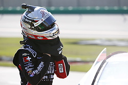 July 13, 2018 - Sparta, Kentucky, United States of America - John Hunter Nemechek (42) hangs out on pit road before qualifying for the Alsco 300 at Kentucky Speedway in Sparta, Kentucky. (Credit Image: © Chris Owens Asp Inc/ASP via ZUMA Wire)