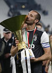 May 19, 2019 - Turin, ITA, Italy - Giorgio Chiellini during Serie A match between Juventus v Atalanta, in Turin, on May 19, 2019  (Credit Image: © Loris Roselli/NurPhoto via ZUMA Press)