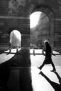 Paris. 10th district. Saint Martin gate /  Porte Saint Martin