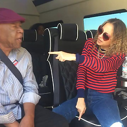 """Nicole Richie releases a photo on Instagram with the following caption: """"Need a ride to the polls? We will pick you up in a party bus, give you some snacks, and let you pick the playlist. Just ask Harry \u0026 Bob \ud83c\uddfa\ud83c\uddf8 #VOTE"""". Photo Credit: Instagram *** No USA Distribution *** For Editorial Use Only *** Not to be Published in Books or Photo Books ***  Please note: Fees charged by the agency are for the agency's services only, and do not, nor are they intended to, convey to the user any ownership of Copyright or License in the material. The agency does not claim any ownership including but not limited to Copyright or License in the attached material. By publishing this material you expressly agree to indemnify and to hold the agency and its directors, shareholders and employees harmless from any loss, claims, damages, demands, expenses (including legal fees), or any causes of action or allegation against the agency arising out of or connected in any way with publication of the material."""