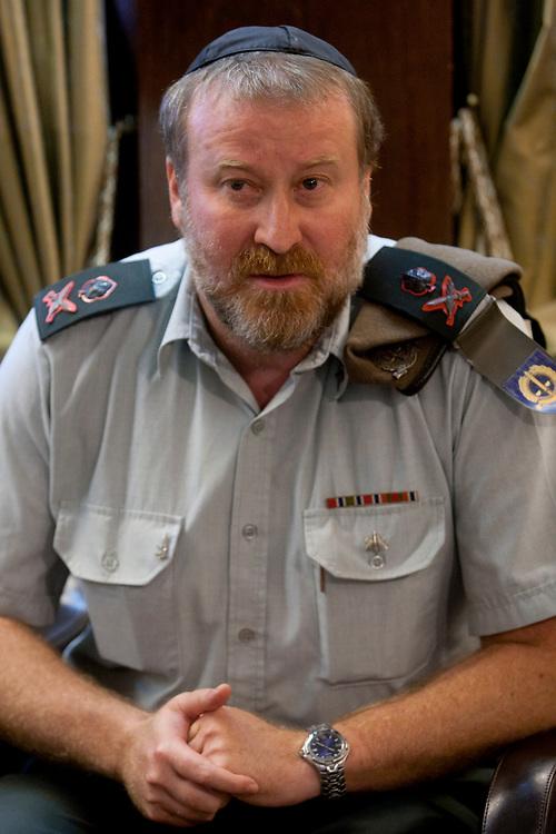Israel Defense Forces Chief Military Advocate Brigadier-General Avichai Mandelblit at the Israeli President's Residence in Jerusalem, on November 7, 2010.