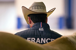 Bastien Bourgeois, (FRA), Arh Lucky Whiz Dunit - Horse Inspection Reining  - Alltech FEI World Equestrian Games™ 2014 - Normandy, France.<br /> © Hippo Foto Team - Dirk Caremans<br /> 25/06/14