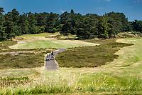 Bosch en Duin -  Hole 17. Droogte op Golf Club de Pan. COPYRIGHT KOEN SUYK