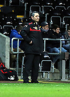 Pictured: Marcel Koller, Austria manager. Wednesday 06 February 2013..Re: Vauxhall International Friendly, Wales v Austria at the Liberty Stadium, Swansea, south Wales.
