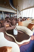 The launch of Royal Caribbean International's Oasis of the Seas, the worlds largest cruise ship..Viking Crown Lounge