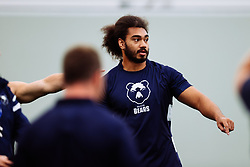 Chris Vui looks on as Bristol Bears start to use their new almost completed Training centre - Rogan/JMP - 08/07/2020 - RUGBY UNION - Beggar Bush Lane - Bristol, England.
