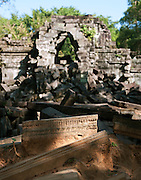 Ruins of the ancient temple of Beng Mealea, Cambodia