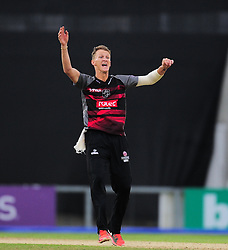 Max Waller of Somerset appeals for the wicket of Liam Dawson.  - Mandatory by-line: Alex Davidson/JMP - 02/08/2016 - CRICKET - The Ageas Bowl - Southampton, United Kingdom - Hampshire v Somerset - Royal London One Day