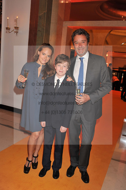 JAMES SEYMOUR husband of Anya Hindmarch and their children OCTAVIA SEYMOUR and FELIX SEYMOUR at the annual Veuve Clicquot Business Woman of the Year Award this year celebrating it's 40th year, held at Claridge's, Brook Street, London on 18th April 2012.