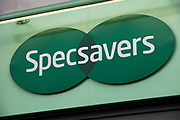 Sign for glasses shop Specsavers.