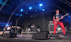 Party At The Palace, Linlithgow, Scotland, Saturday 13th August 2016<br /> <br /> GUN perform on the main stage<br /> <br /> (c) Alex Todd | Edinburgh Elite media
