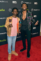 December 14, 2016 - Beverly Hills, Kalifornien, USA - Tyler Williams und Woody McClain bei der Premiere der BET TV-Miniserie 'The New Edition Story' im Paley Center for Media. Beverly Hills, 14.12.2016 (Credit Image: © Future-Image via ZUMA Press)