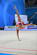 Cankaya Ecem is a Turkish rhythmic gymnastics athlete, born in Konak in 2000. Varvara Filiou, born in Maurosi on 29 December 1994, is a retired Greek rhythmic gymnast. It is the most famous and awarded Greek athlete of this sport. Varvara is an 8 time Greek National All-around Champion.