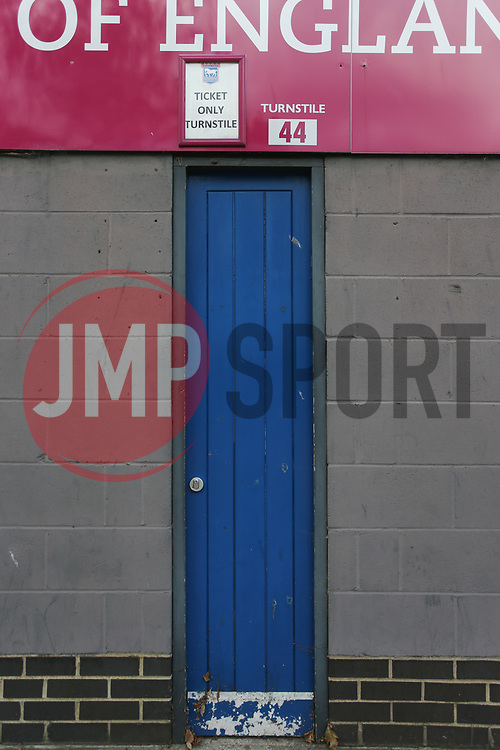 Turnstiles not in use - Mandatory by-line: Arron Gent/JMP - 05/09/2020 - FOOTBALL - Portman Road - Ipswich, England - Ipswich Town v Bristol Rovers - Carabao Cup