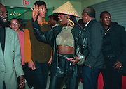 Grace Jones at the Dancehall Queen party Kingston Jamaica 1997