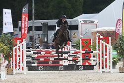 Delforge Victoire, BEL, Djinger Dv Z<br /> 4 years old Horses<br /> BK Young Horses Gesves 2021<br /> © Hippo Foto - Julien Counet