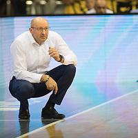 11.02.2020, EWE Arena, Oldenburg, GER, easy Credit-BBL, EWE Baskets Oldenburg vs Fraport Skyliners Frankfurt, im Bild<br /> Mladen DRIJENCIC (EWE Baskets Oldenburg #Headcoach #Coach )<br /> Foto © nordphoto / Rojahn