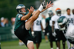 Philadelphia Eagles punter Ken Parrish #3 during the Philadelphia Eagles NFL training camp in Bethlehem, Pennsylvania at Lehigh University on Saturday August 1st 2009. (Photo by Brian Garfinkel)