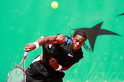 Roland Garros. Paris, France. June 4th 2006. .Gael Monfils against James Blake .