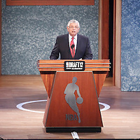 28 June 2012: David Stern is seen during the 2012 NBA Draft, at the Prudential Center, Newark, New Jersey.