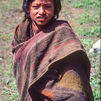 Young Thakali boy in Kalopani, Nepal.