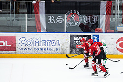 Miha BRUS during Alps League Ice Hockey match between HDD SIJ Jesenice and HK SZ Olimpija on March 2, 2020 in Ice Arena Podmezakla, Jesenice, Slovenia. Photo by Peter Podobnik / Sportida