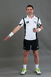 Umpire Chris Molloy throw in - goal line