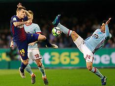 RC Celta de Vigo vs FC Barcelona - 18 Apr 2018