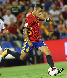 Thiago Alcantara, Spain in action during the World Cup qualification match between Spain vs Albania in Alicante, Spain, on October 06, 2017. Photo by Giuliano Bevilacqua/ABACAPRESS.COM