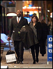 Lenny Henry and his new girlfriend