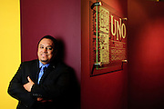 Juan Rangel is President and Executive Director of United Neighborhood Organization (UNO), which has expanded from a single charter school in 2005 to a total of eleven with plans for two more. Rangel has fostered an outward growth of the organization's Latino roots with mounting influence in local political and economic issues.