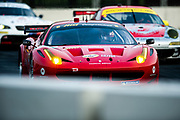 September 2-4, 2011. American Le Mans Series, Baltimore Grand Prix. 62 Risi Competizione, Jaime Melo, Toni Vilander, Ferrari 458 Italia GT2