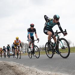 07-03-2020: Wielrennen: Ronde van Groningen: Usquert <br />Luuc Bugter; Tijmen Eising; Harthijs de Vrie