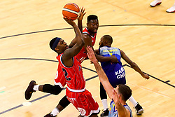 Jalan McCloud of Bristol Flyers shoots - Photo mandatory by-line: Robbie Stephenson/JMP - 29/03/2019 - BASKETBALL - English Institute of Sport - Sheffield, England - Sheffield Sharks v Bristol Flyers - British Basketball League Championship