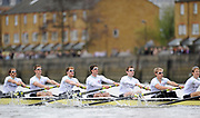 Putney, London,  CAMBRIDGE [CUBC] Left to Right, Bow - Rob WEITEMEYER, Geoff ROTH, George NASH, Peter McCELLAND, Deaglan McEACHERN, Henry PELLY, Derek RASMUSSEN, during the 156th University Boat Race  over  the Championship Course,  Putney to Mortlake. on Saturday  03/04/2010 [Mandatory Credit Peter Spurrier/ Intersport Images]