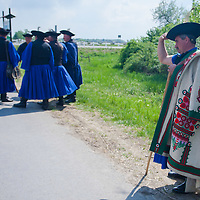 Traditional Hungarian herdsmen attend the celebration of the start of the new grazing season in the Great Hungarian Plain in Hortobagy, 200 km (124 miles) east of Budapest April 30, 2011. ATTILA VOLGYI