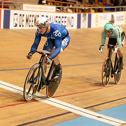 27-12-2019: Wielrennen: NK Baan: Alkmaar <br />Jeffrey Hoogland, Theo Bos