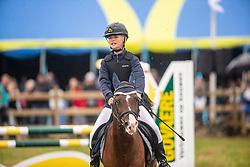 Geysen Bjarne, BEL, Boomer<br /> Nationaal Tornooi LRV Ponies<br /> Zonnebeke 2019<br /> © Hippo Foto - Dirk Caremans<br />  29/09/2019