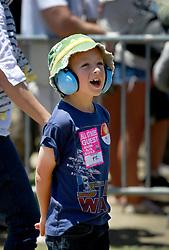 05 May 2013. New Orleans, Louisiana,  USA. .Ben at JazzFest. .Photo; Charlie Varley.