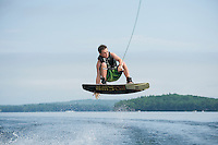 Bradley water ski session with Mike Morin.  Karen Bobotas Photographer