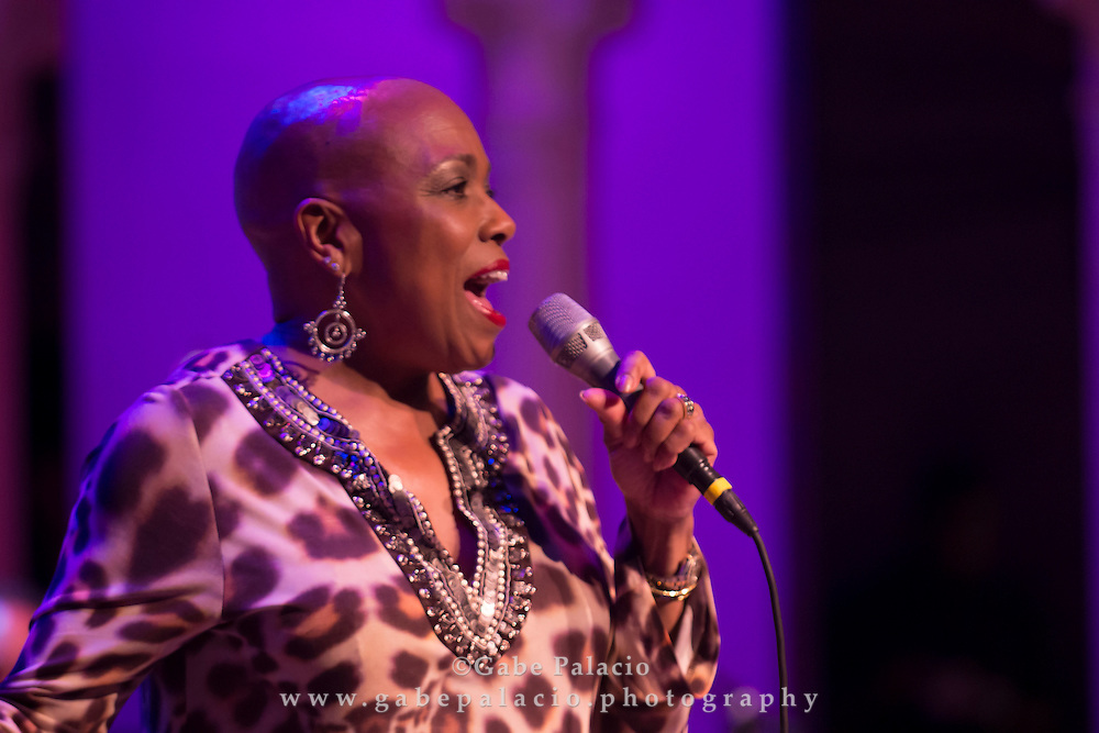 Dee Dee Bridgewater performing at The Jazz Festival at Caramoor in Katonah New York on July 28, 2012.photo by Gabe Palacio