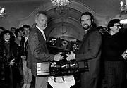 Island CEO Tom Hayes with John Martyn 1979