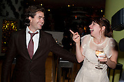 RUPERTY GOOLD; LUCY PREBBLE; ;  Press night for the West End opening of ENRON.<br /> No'l Coward Theatre, St Martin's Lane, London WC2, afterwards: Asia De Cuba, St Martins Lane Hotel,  London. 25 January 2010<br /> RUPERTY GOOLD; LUCY PREBBLE; ;  Press night for the West End opening of ENRON.<br /> Noël Coward Theatre, St Martin's Lane, London WC2, afterwards: Asia De Cuba, St Martins Lane Hotel,  London. 25 January 2010