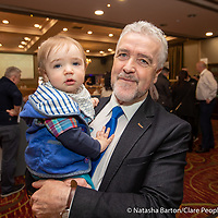 Gerry Flynn with his grandson Jack