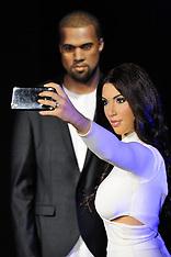 London - Kim Kardashian And Kanye West Models Unveiled - 09 Oct 2016