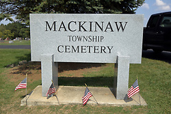 23 September 2017:   Mackinaw Township Cemetery located along the northern edge of Mackinaw Illinois