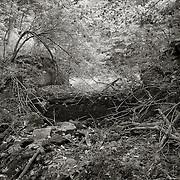 Spillway, Breached Dam Near Pontoosuc Lake, West Branch of Housatonic River