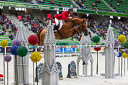 Jaroslaw Skrzyczynski, (POL), Crazy Quick - Team & Individual Competition Jumping Speed - Alltech FEI World Equestrian Games™ 2014 - Normandy, France.<br /> © Hippo Foto Team - Leanjo De Koster<br /> 02-09-14