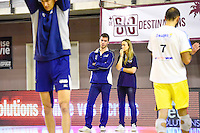 Gilles GOSSELIN / Elodie MILIN  - 19.12.2014 - Beauvais / Saint Nazaire - 12e journee de Ligue A<br />